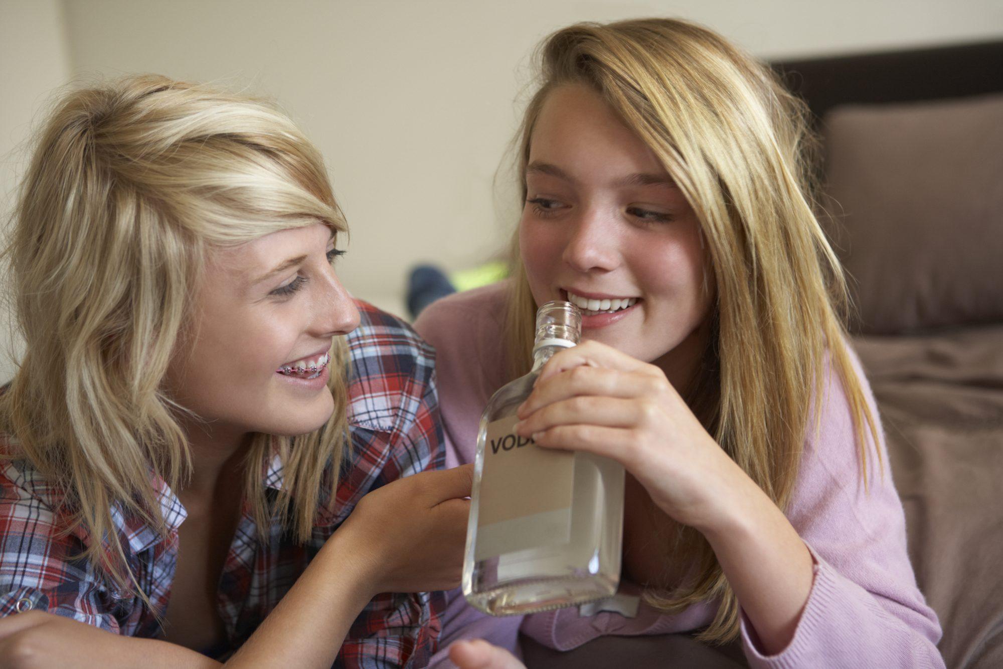 History of teen drinking