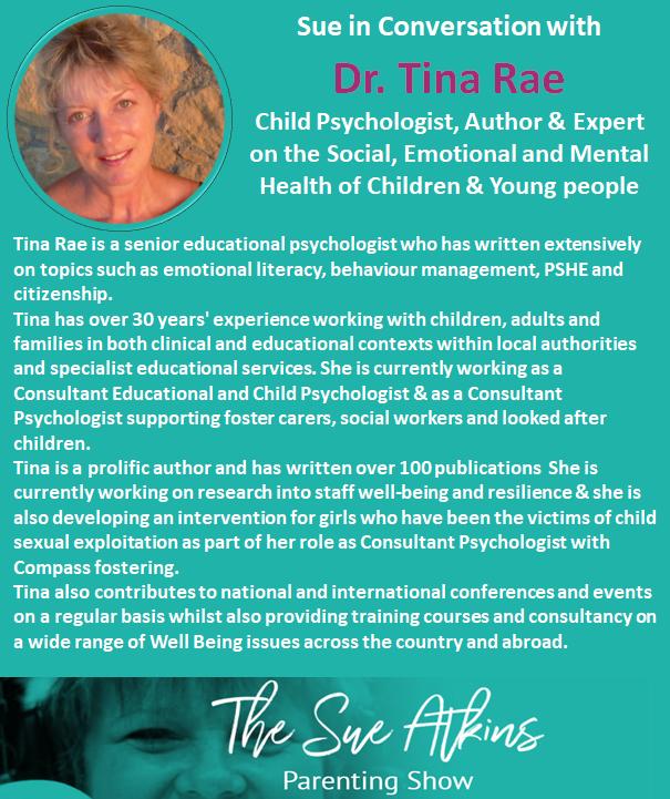 Sue Atkins The Parenting Coach