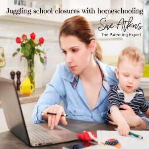 Juggling school closures and homeschooling